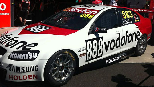 The real deal in pit lane at Bathurst. source - SPEED