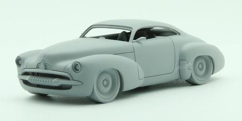 Efijy concept car prototype model by apex
