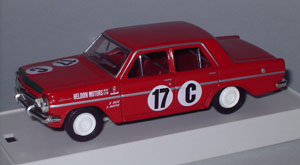 Scuderia-Veloce Dealer team EH Holden S4 of Spencer Martin/Brian Muir that raced in the 1963 Armstrong 500 (Bathurst) as modelled by Trax TR5E.