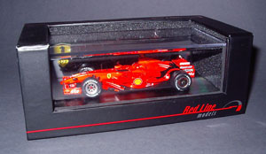 Red Line Models now offer a range of 2007 Ferraris in various versions. I purchased the Filipe Massa Bahrain GP