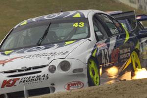 Paul Weel at the wheel