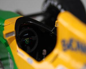 Cockpit detail.