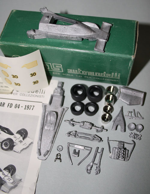 all the parts contained in FDS kit #61