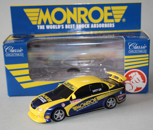 A Classic Carlectables Monroe Safety Car (certificate #0095 of 4000) was sacrificed for this Code 3 project.