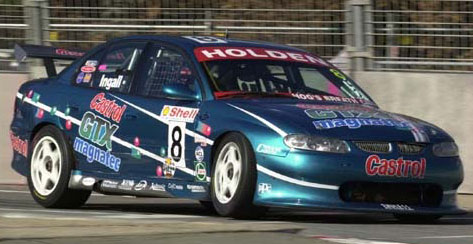 russell Ingall magnatec vt commodore v8 supercar canberra 400 2000