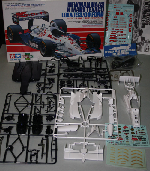 All the parts that come in Tamiya kit #20040