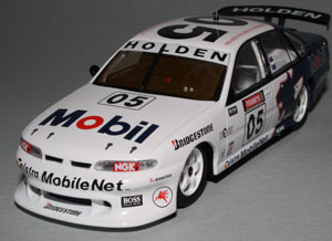 Biante produced 1008 of these Brock/Mezera 1995 Bathurst VR Commodores in 1/43 scale. The narrow stance make them look like a toy play car.
