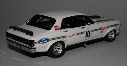 The Ford decals (which are supplied) need to be applied by the collector.