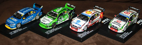 1/43rd scale FG Falcon V8 Supercars from Apex