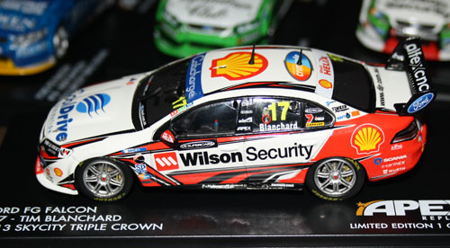 Blanchard's #17 DJR FG in the red Wilson Security/Shell colours it carried for part of the season