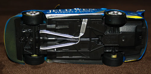 Not much detail, and I'm not too sure if what's there is accurate. That looks a bit like a gearbox on the back of the motor...