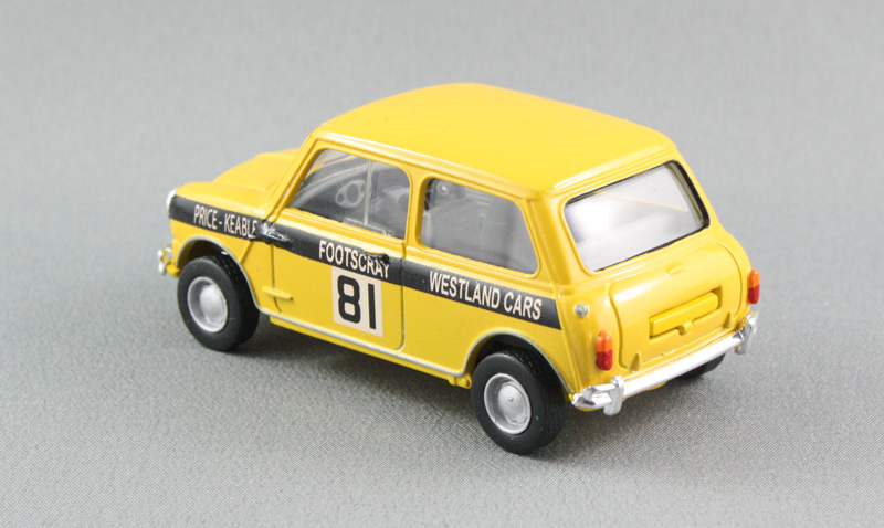Mini Cooper S Conversion, Price/Keable (Dinky 1:43)