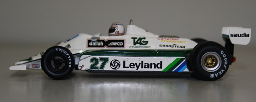 Spark To Do Alan Jones Championship Winning Williams In 1:18!