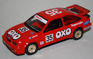 Trax Ford Sierra RS500 Cosworth 1987 OXO Supercube Andrew Miedecke