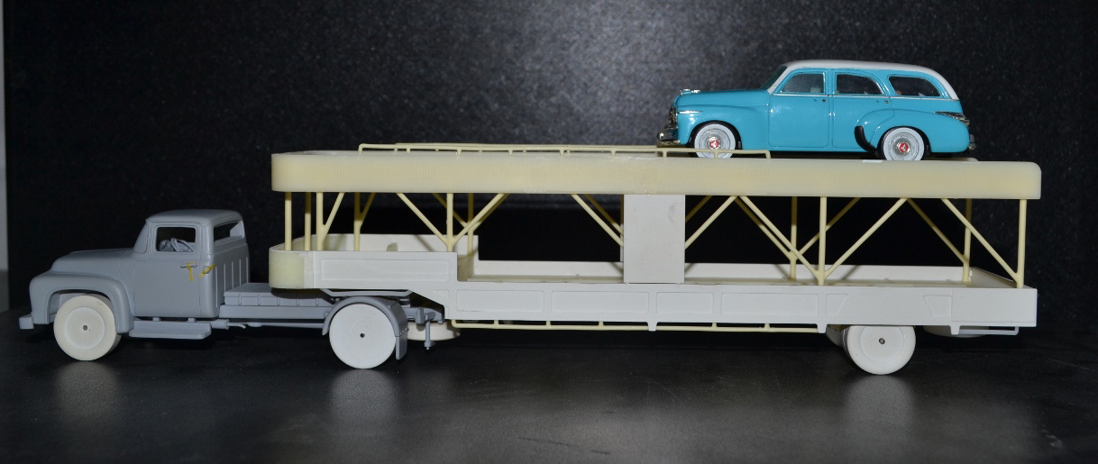 Truck Development At Models 56