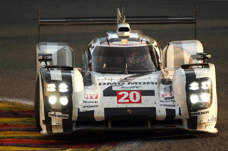 Mark Webber Porsche 919 Hybrid Le Mans 2014