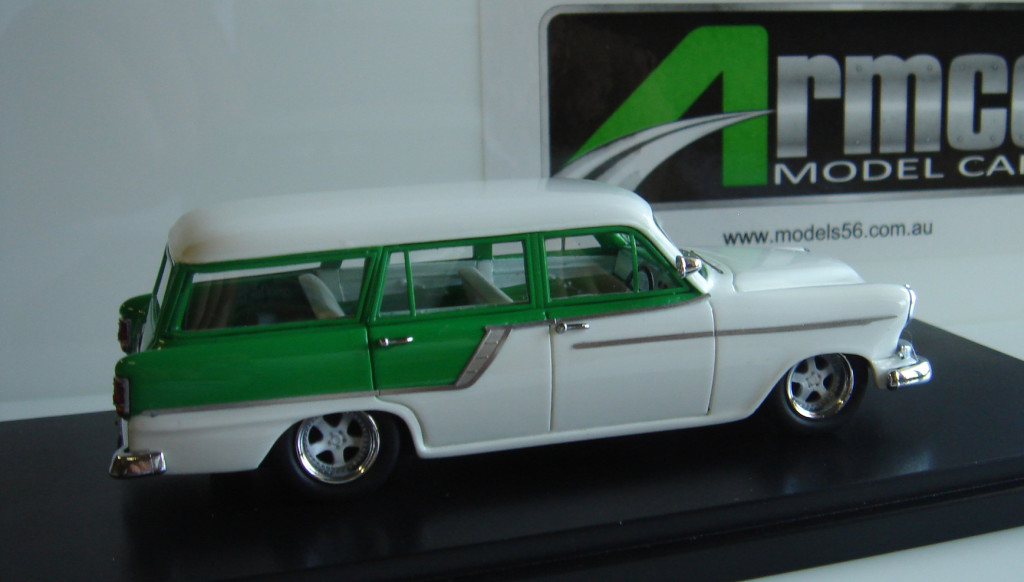 1958 Holden FC Wagon Modified  (Green/White) - 100 units