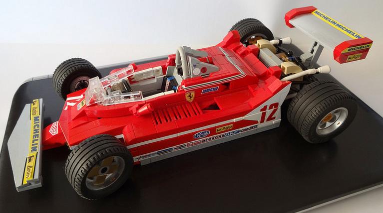 1979 Ferrari 312 T4 Gilles Villeneuve