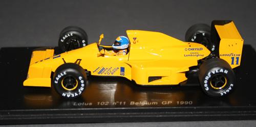 Lotus 102 (Derek Warwick, 1990)