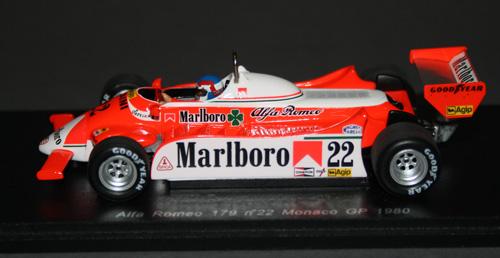 Alfa Romeo 179 (Patrick Depailler, 1980)