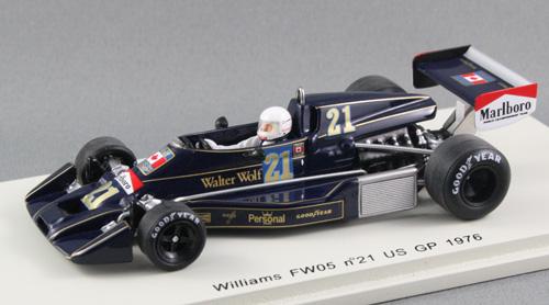 Marlboro backed Wolf-Williams FW05 (Warwick Brown, 1976)