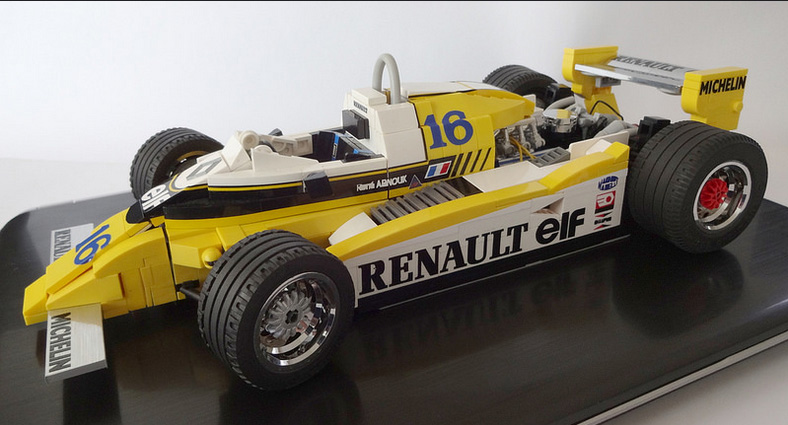 1980 Renault RE20 of Rene Arnoux