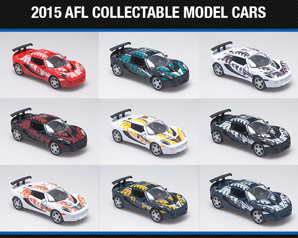 2015 AFL model cars by Biante