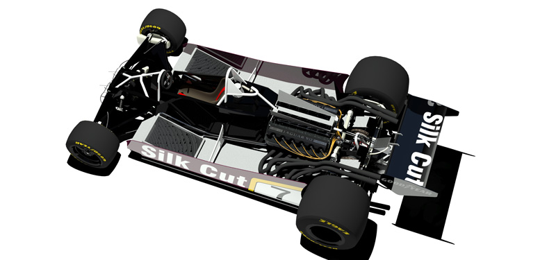 Under the skin if the 1979 F1 Jaguar 'wing car'