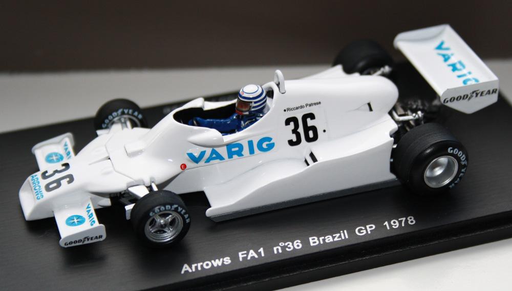 Spark S3900 - Arrows FA1, 1978 Brazil GP (Riccardo Patrese)