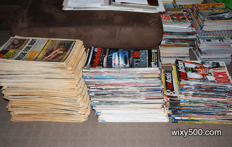 Auto Action - over 530 issues, from 1981 to 2004, including several AGP Special Editions.