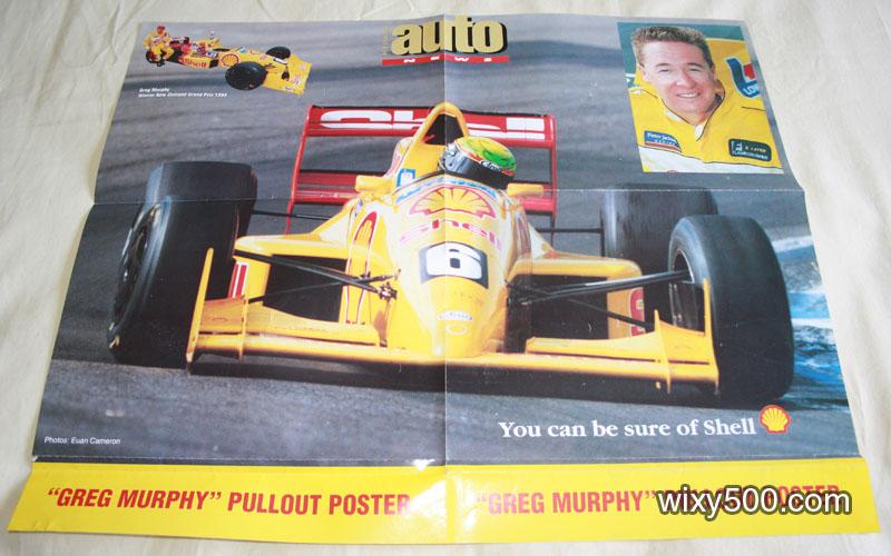 Greg Murphy / shell poster