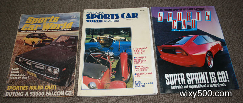 Sports Car World – October 1973 (aged), Australian Sports Car World Quarterly – Feb/Apr 1978, Sports Car World