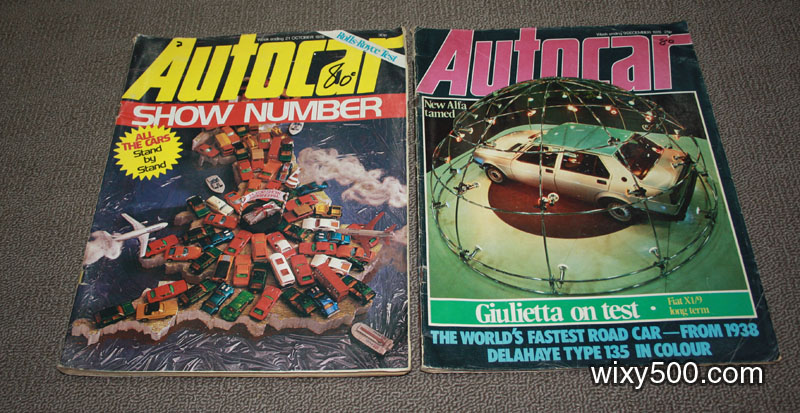 Autocar – 9 December 1978 Vol 149 No 4283 and 21 October 1978 Vol 149 No 4276