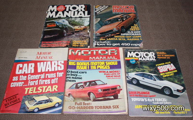 Motor Manual - mixed issues from 1970 to 1983