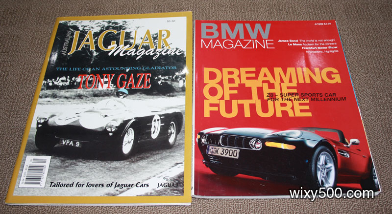 Jaguar Magazine – Edition 72. BMW Magaxine – Qtr 4 1999