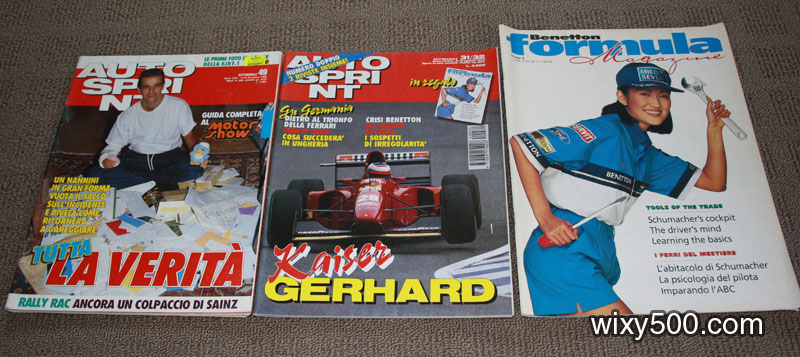 Autosprint (Italian) 4-10 December 1990 and 2-15 August 1994. Benetton Formula Magazine – issue 5