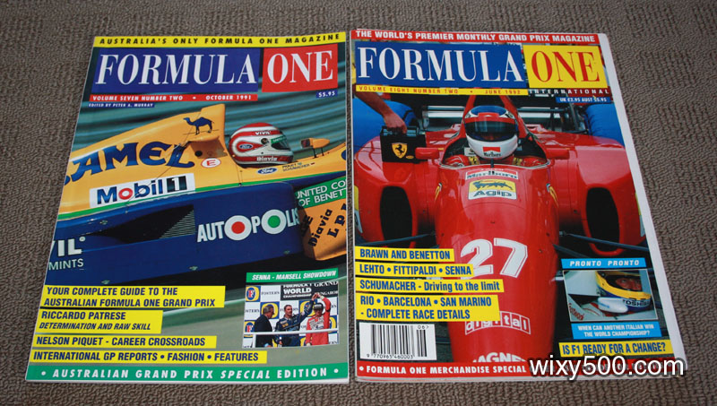 Formula One – October 1991, June 1992 (2 copies)