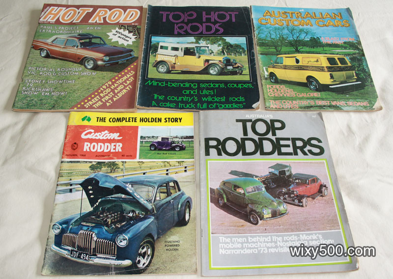 Various Hot Rodding / Customising magazines