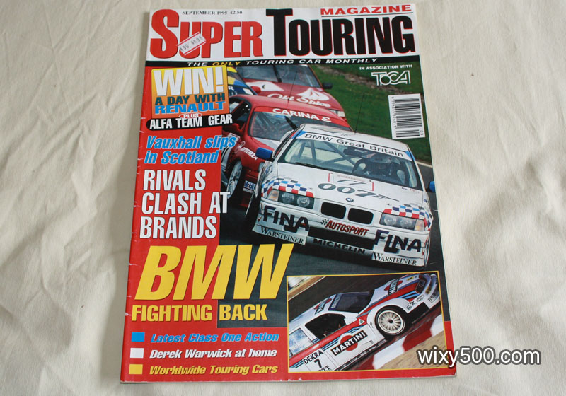 Super Touring Magazine – September 1995