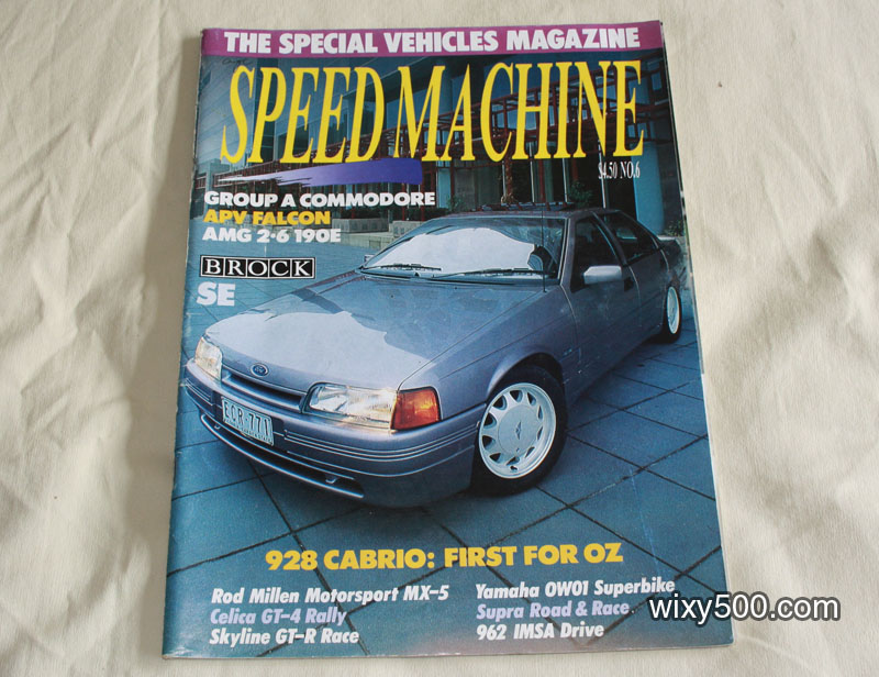 Speed Machine – issue 6