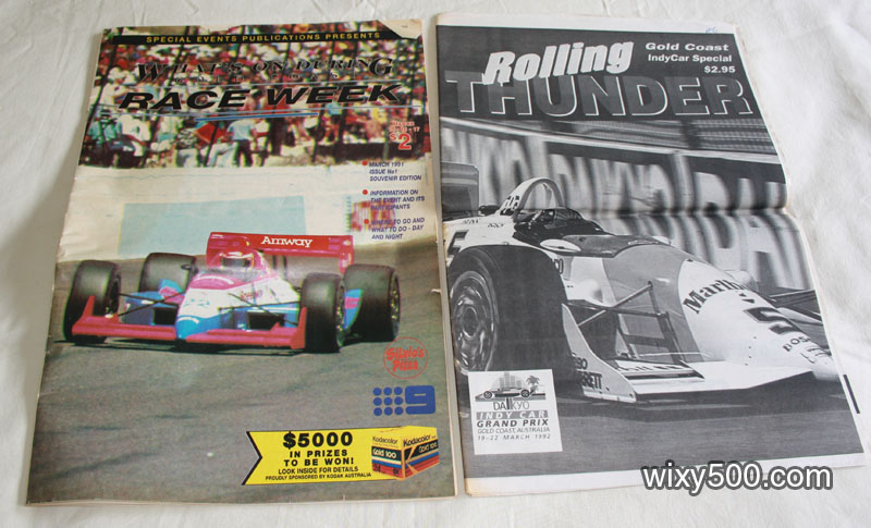 What's On Raceweek (Indycar Gold Coast 1991), Rolling Thunder Gold Coast Indycar Special – 1992