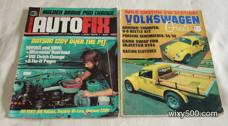 Australian AutoFix – May 1975, Volkswagen Greats