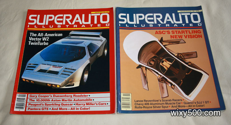 Superauto Illustrated – Nov/Dec 1985, Sep/Oct 1985