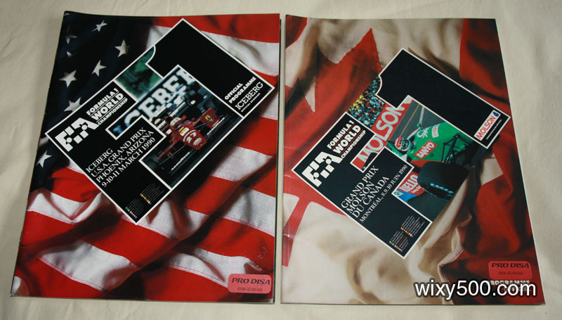 FIA Formula One race program – Canada 1990, USA (Phoenix) 1990