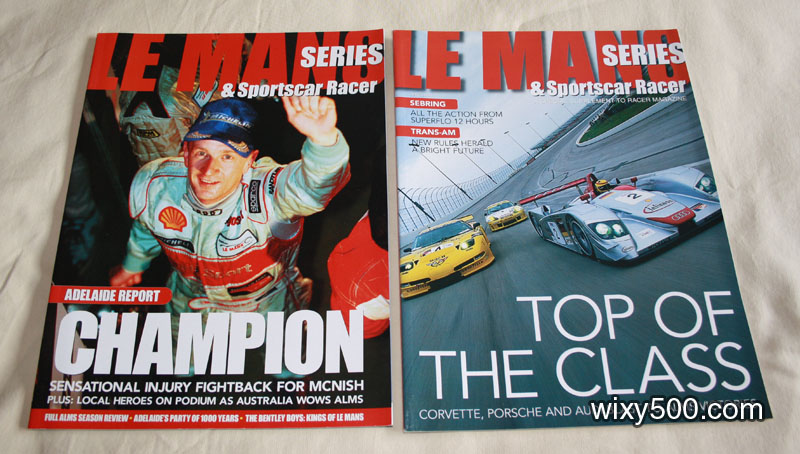 LeMans Series & Sportscar Racer – Adelaide special 2000/2001, April 2001