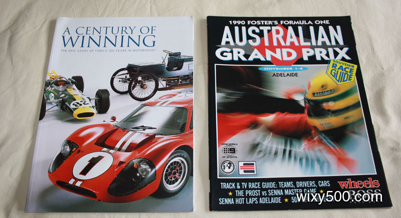 A Century of Winning (Ford's 100 Years in Motorpsort), 1990 Australian Grand Prix Race Guide