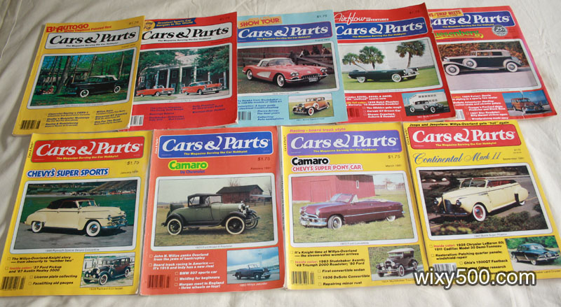 Cars & Parts – various issues from August 1979 to March 1982
