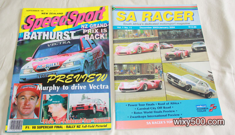Speedsport NZ – September 1998 (No 96), SA Racer (South Africa) – Dec 03 / Jan 04, Vol 1 No 11