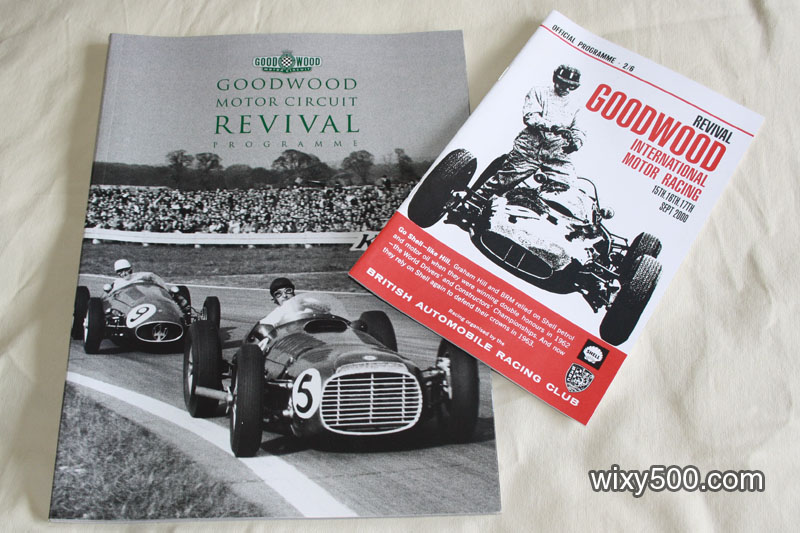Goodwood Revival Program 2000 (includes official program/competitors)