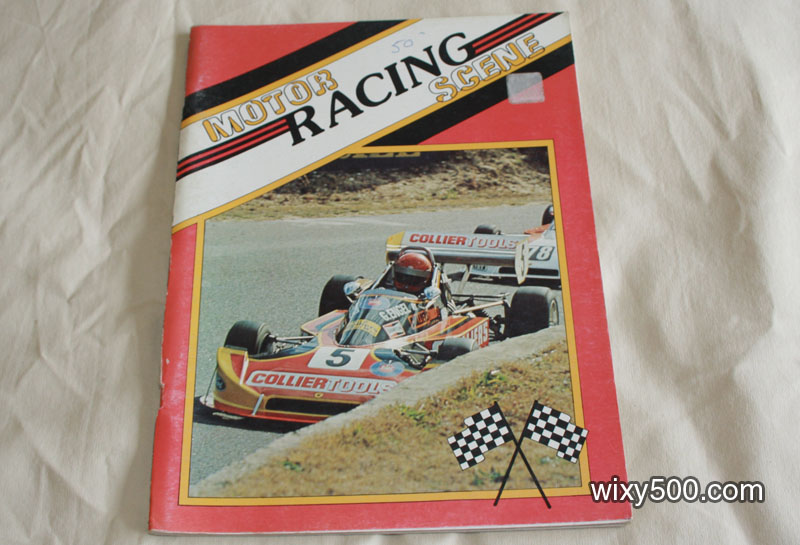 Motor Racing Scene - photo based softcover book
